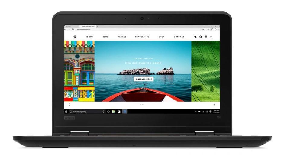 Lenovo ThinkPad 11e 5th Gen 11.6-inch Notebook, Black