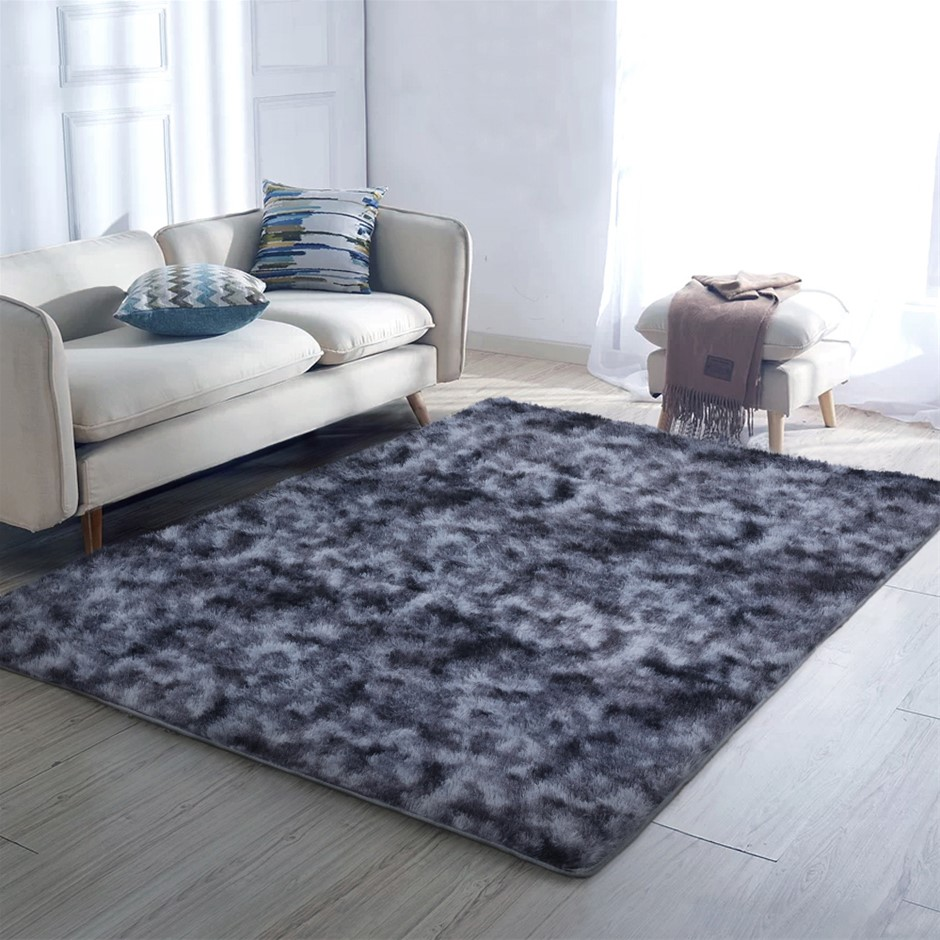 Artiss Gradient Floor Rugs 160 x 230 Shaggy Large Rug Carpet Soft Area
