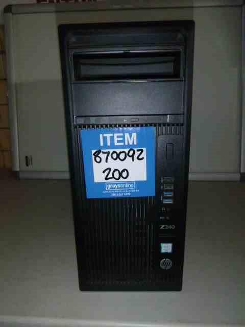 HP Z240 Workstation Computer