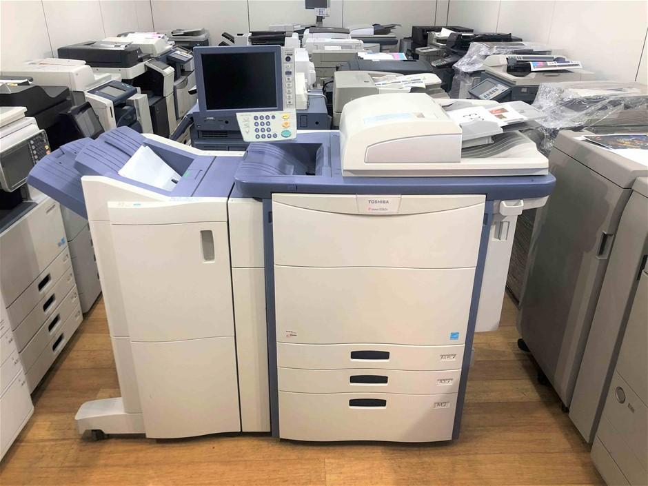Toshiba e-Studio 5560c Refurbished Multi-function Printer + Booklet Maker F