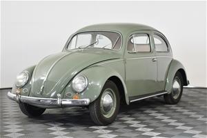 1956 Volkswagen Beetle 4 Speed Manual Co