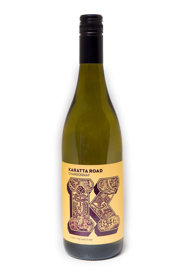Karatta Wines K Series Karatta Road Chardonnay 2018 (12 x 750mL) Robe