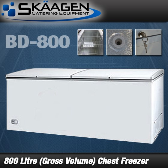 Unused BD-800 (800 litre gross) Chest Freezer