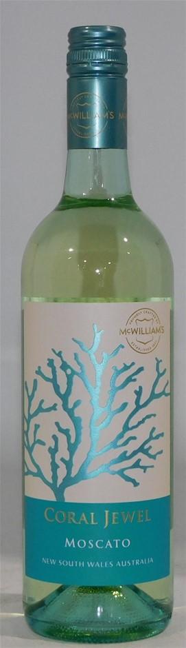 McWilliams Coral Jewel Moscato NV (6x 750mL) SEA.