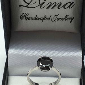 18ct White Gold, 3.03ct Diamond Ring