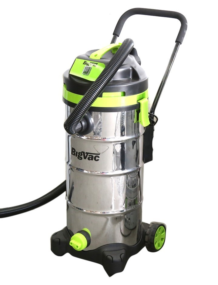 BigVac 40L Wet & Dry Stainless Steel Vacuum Cleaner 1400W. (SN:CC49191) (27