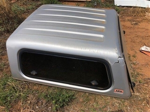 ARB silver ute canopy