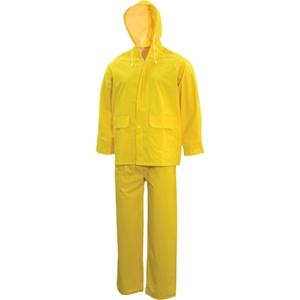 TUFFSAFE 2pc Rainsuit, Size M, Hooded Ja