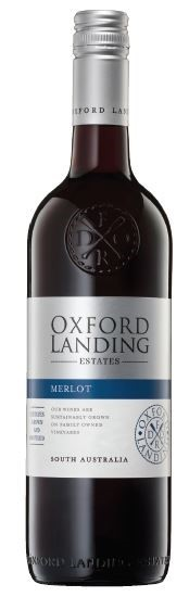 Oxford Landing Merlot 2018 (12 x 750mL), SA.