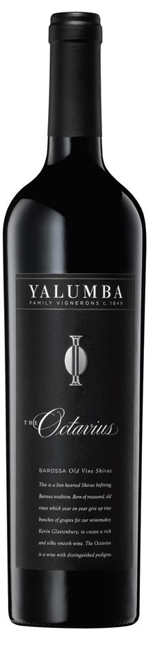 Yalumba `The Octavius` Shiraz 2015 (6 x 750mL), Barossa, SA.