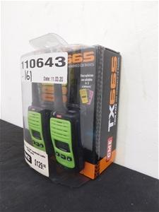 GME TX665 Twin Pack UHF Handheld Radios