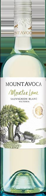 Moates Lane Sauvignon Blanc 2017 (12x 750mL). Pyreness, VIC