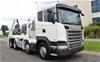 2015 Scania G480 Skip Bin 8 x 4 Automatic Truck