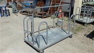 Steel Fabricated Stock Trolley