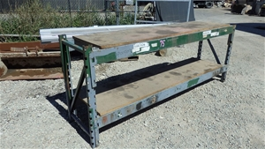 Steel Bench with Timber Top