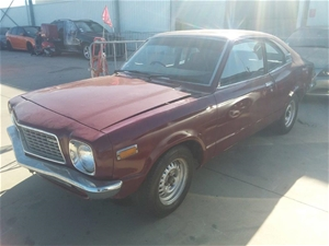 1975 Mazda 808 Super Deluxe Manual Coupe