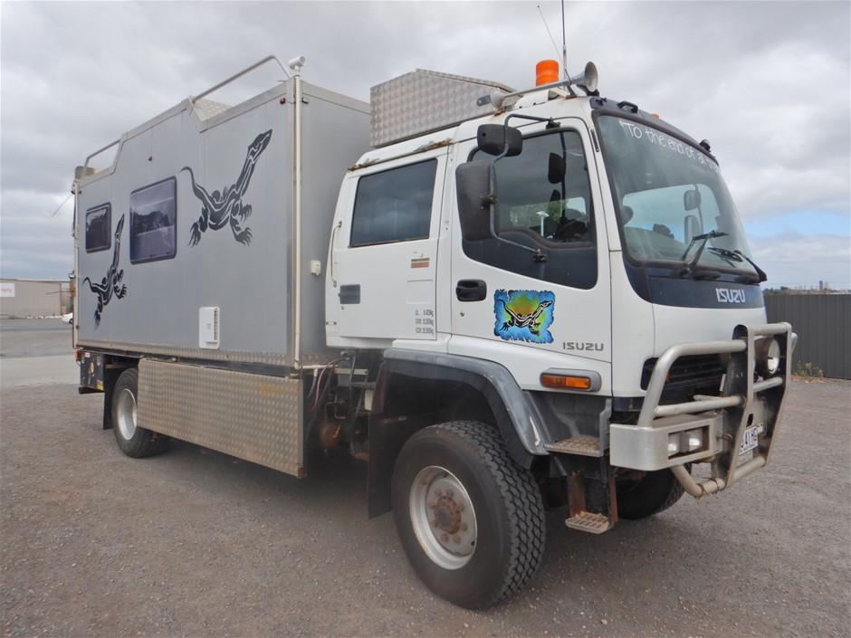 2006 Isuzu FTS 4x4 Camper Truck (Pooraka, SA)