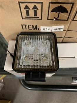 23 x Unused 15W LED Worktlights
