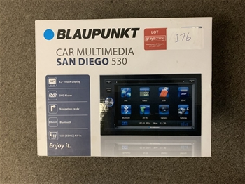1 x Unused Blaupunkt 6.2 Inch Multimedia Stereo