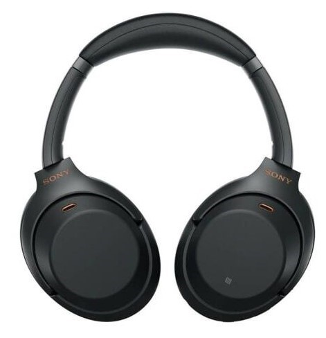 SONY Wireless Noise Cancelling Headphones, Black. Model WH-1000XM3. Complet