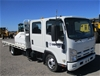 2011 Isuzu NPR300 Tray Body Truck