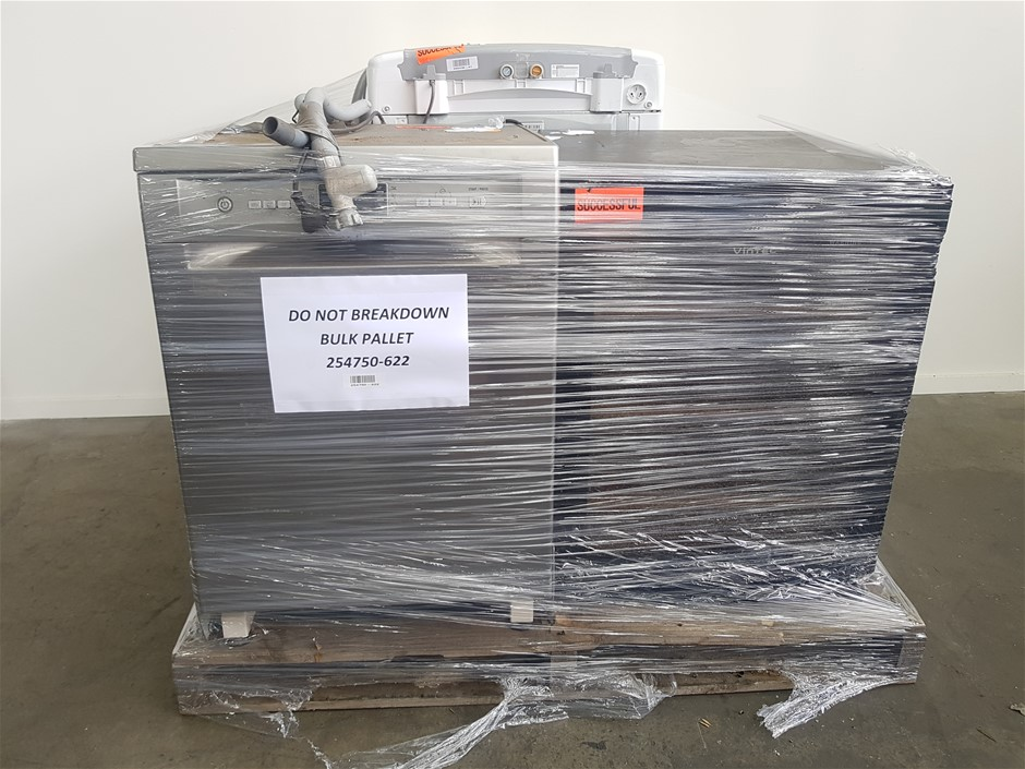 Pallet of Assorted USED/UNTESTED Whitegood Appliances