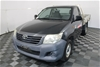 2012 Toyota Hilux Workmate Cab Chassis
