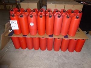 Qty 38 x Plastic 20 Litre Jerry Cans (St