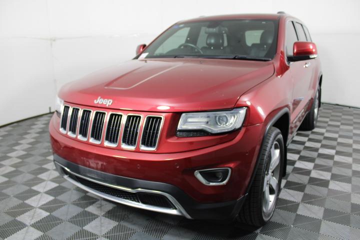 2013 Jeep Grand Cherokee Limited WK Turbo Diesel Auto Wagon 127,990km