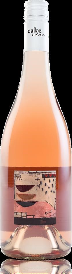 Cake Wines Rose 2019 (12 x 750mL), Adelaide Hills, SA.