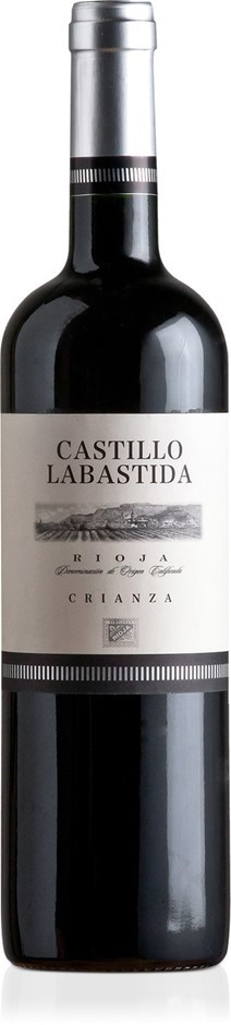 Castillo Labastida Rioja Crianza DO 2014 (12 x 750mL), Spain
