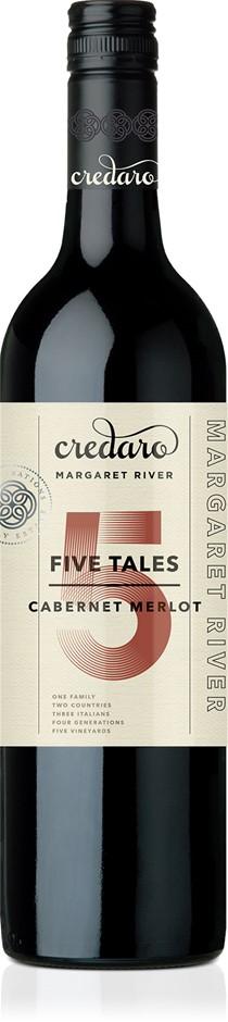Credaro Five Tales Cabernet Merlot 2017 (12 x 750mL), Margaret River, WA.