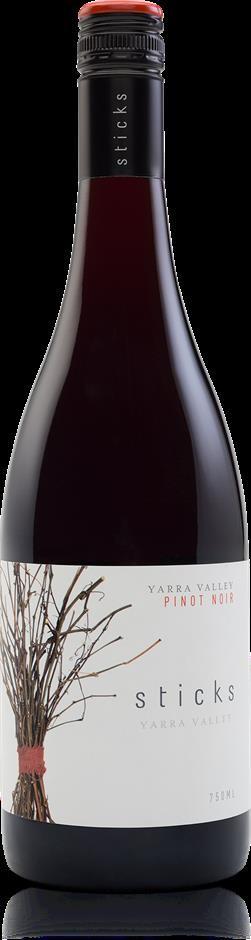 Sticks Pinot Noir 2019 (6 x 750mL), Yarra Valley, VIC.