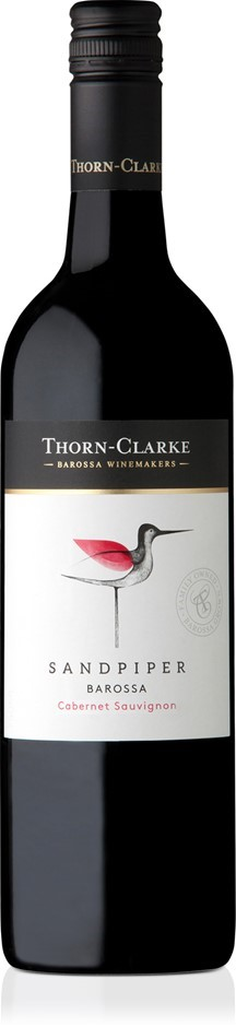 Thorn-Clarke Sandpiper Cabernet Sauvignon 2018 (6 x 750mL), Barossa, SA.