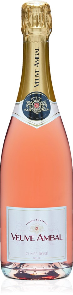 Veuve Ambal Vin Mousseux Rose NV (6x 750mL).