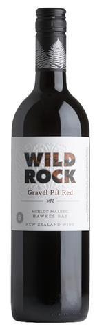 Wild Rock Gravel Pit Red Merlot Malbec 2014 (12 x 750mL), Hawke's Bay, NZ.