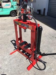 Unused 10 Ton Hydraulic Workshop Press