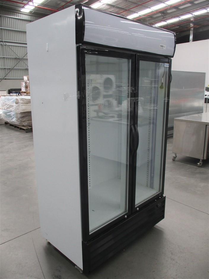 Exquisite DC1000P 1000L Upright display cooler