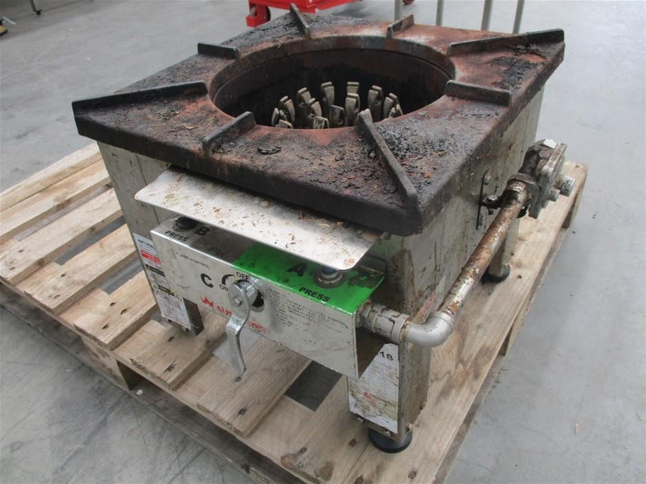 Oceana Y018NGWF-SS 18 Jet duckbill stock pot burner