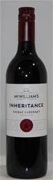 McWilliams Inheritance Shiraz Cabernet 2019 (12x 750mL) NSW