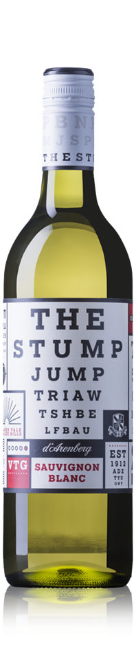 d'Arenberg The Stump Jump Sauvignon Blanc 2019 (12x 750mL). SA