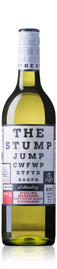 d'Arenberg The Stump Jump White 2018 (12x 750mL). SA