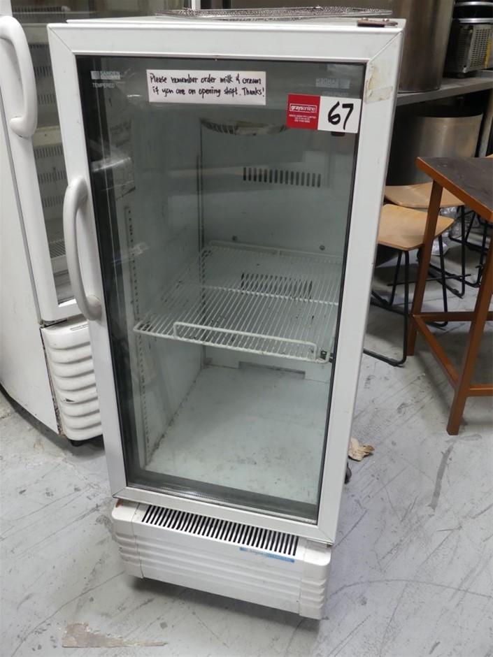 SVC-150SDX Single Door Mobile Display Refrigerator