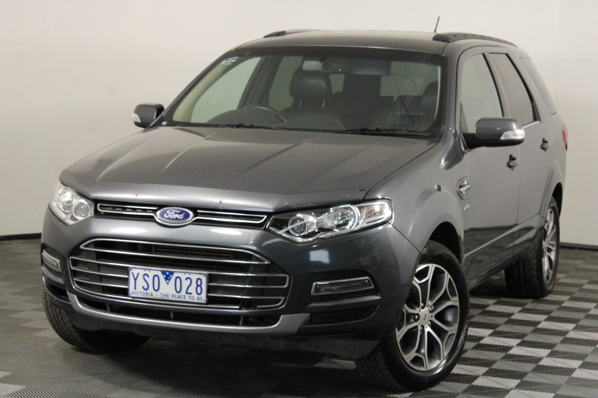 2011 Ford Territory Titanium (4x4) SZ Turbo Diesel Automatic 7 Seats Wagon