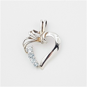 Sterling Silver & Gemstone Pendant.