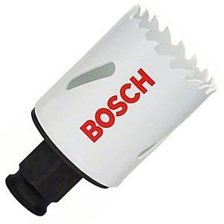 3 x BOSCH 38mm Bimetal Power Change Hole Saws. Buyers Note - Discount Freig
