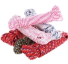 2 x 6 Hanks of 8M x Assorted Braided Ropes 6mm, Mixed Colours. Buyers Note
