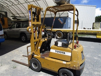 Toyota FG9 4 Wheel Counterbalance Forklift