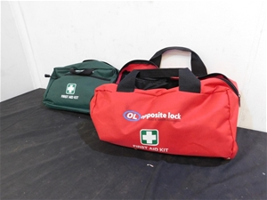 Qty 2 x Opposite Lock First Aid Kits
