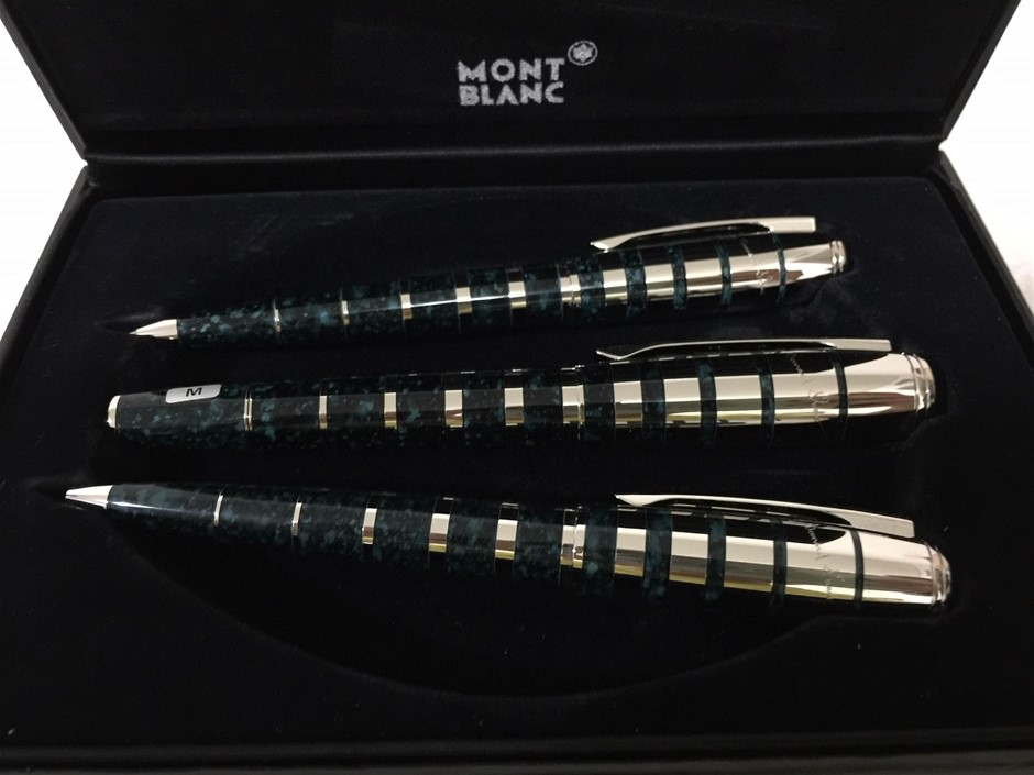Montblanc Writers Edition George Bernard Shaw Limited Edition Set of 3 (M)